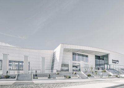 TecDomi GmbH Keramikmanufaktur - Fassadenbau Hauptsitz Firma