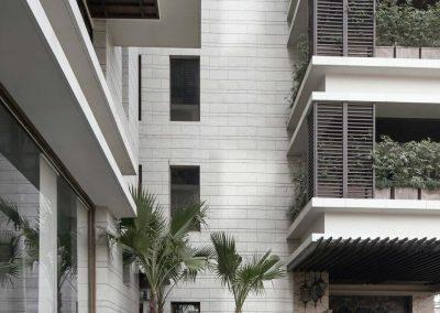 TecDomi GmbH Keramikmanufaktur - Fassadenbau Apartment