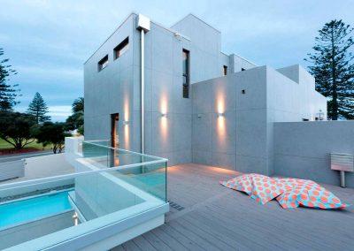 TecDomi GmbH Keramikmanufaktur - Fassadenbau Poolhaus
